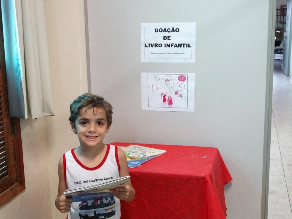 """Biblioteca de Muriaé promove """"Dia de Ler Todo Dia"""" (Foto: Divulgação)"""
