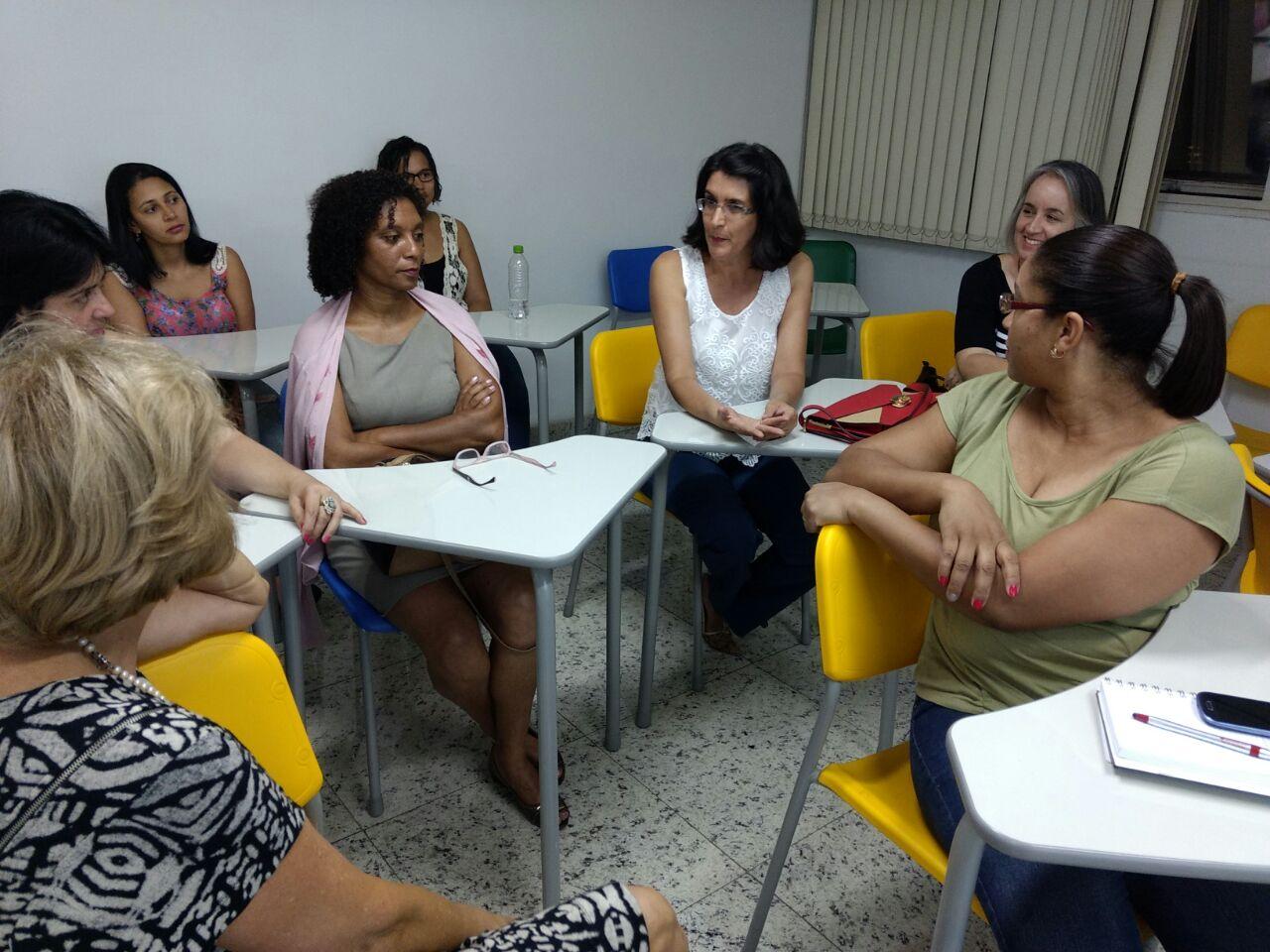 A presidente do CRB-6, Mariza Martins Coelho, participou do evento (Foto: Fabiana Senna)