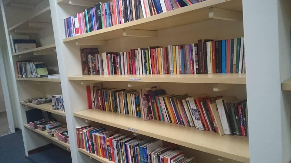 Acervo da biblioteca inclui exemplares sobre a sétima arte (Foto: Divulgação)