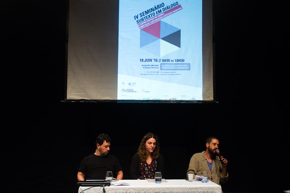 Espaço desenvolve projetos sobre teatro (Foto: Felipe Messias)