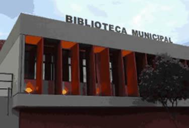 Fachada da Biblioteca Pública Municipal Bernardo Guimarães, de Uberaba (Foto: Divulgação)