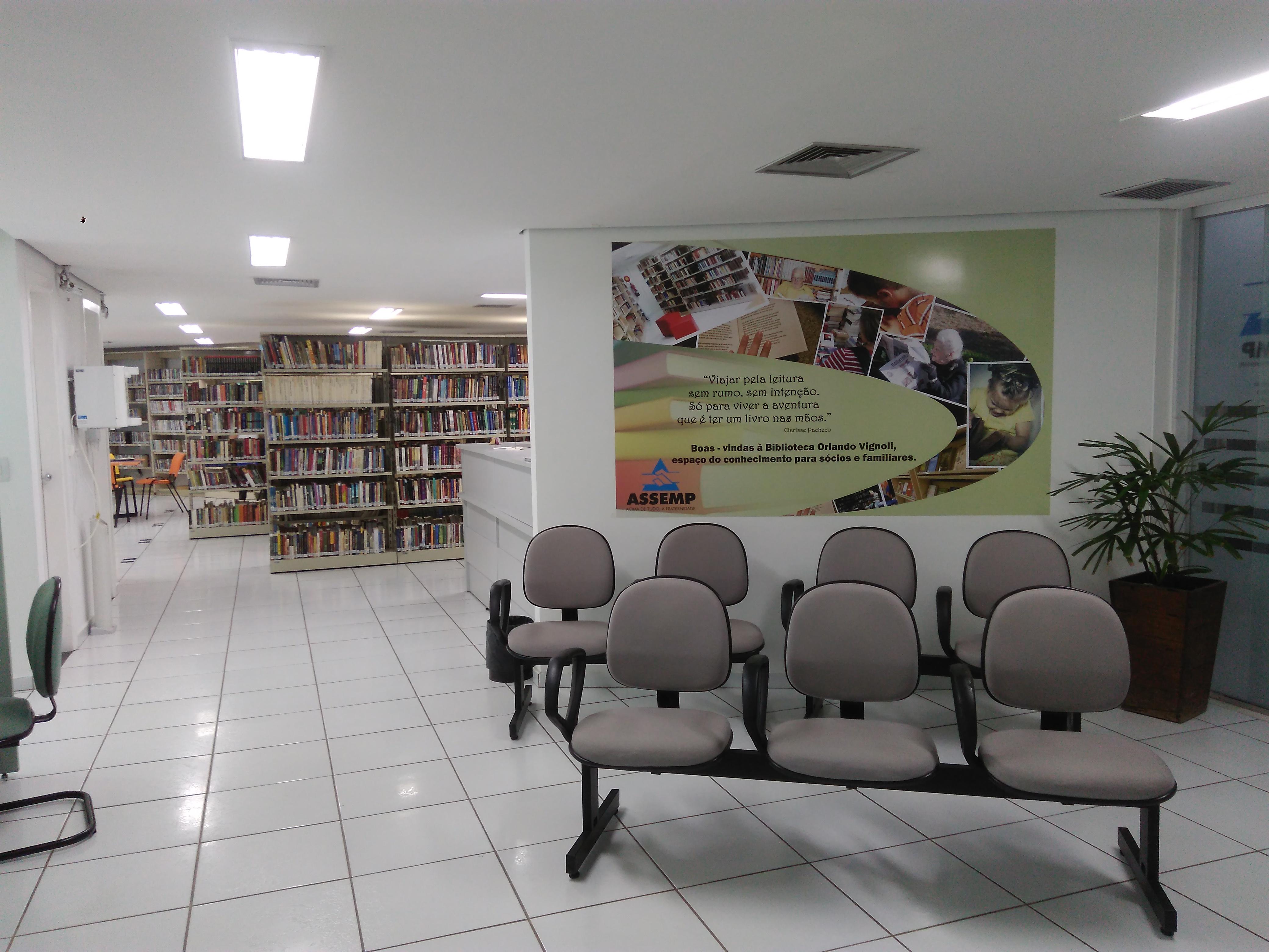 Biblioteca visa proporcionar acesso ao conhecimento, informação e cultura (Foto: Fabiane Neves/ASSEMP)