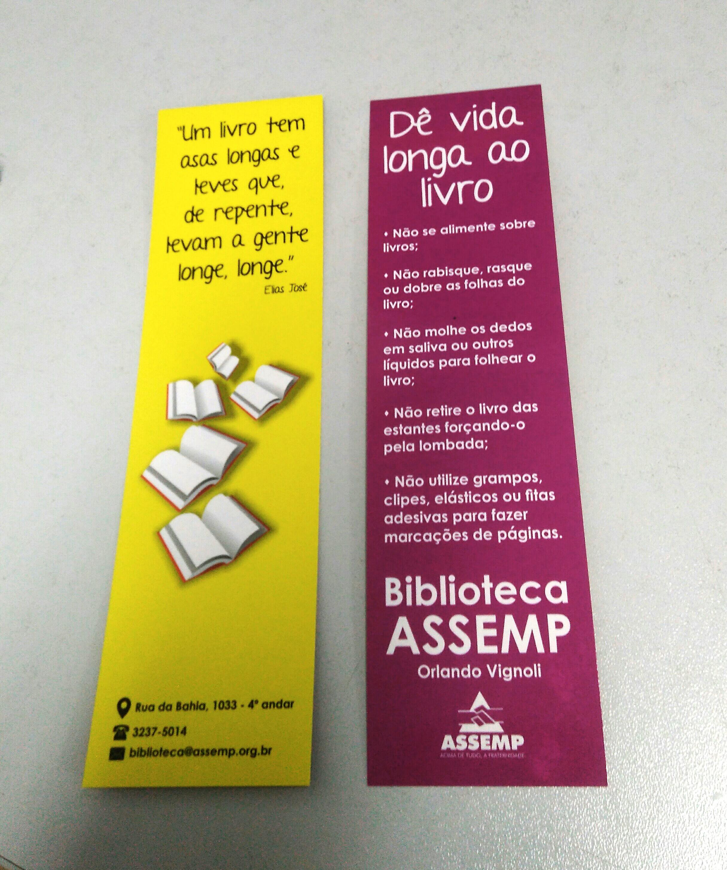 A equipe promove ações para divulgação do espaço e estímulo à leitura (Foto: Fabiane Neves/ASSEMP)