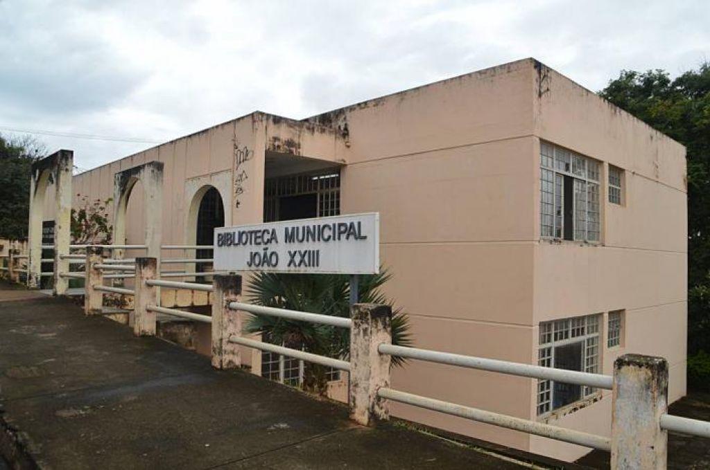 Biblioteca Municipal João XXIII, de Patos de Minas (Foto: Divulgação)
