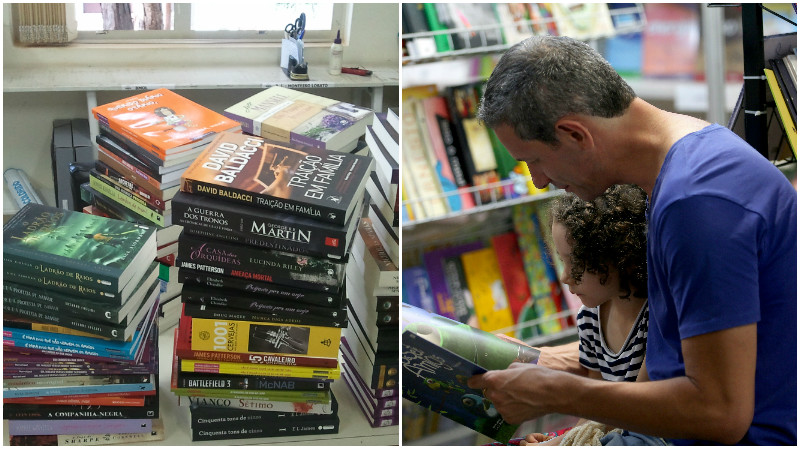 Dia do Consumidor é uma ótima oportunidade para comprar livros (Cidade dos Livros/Wilson Dias