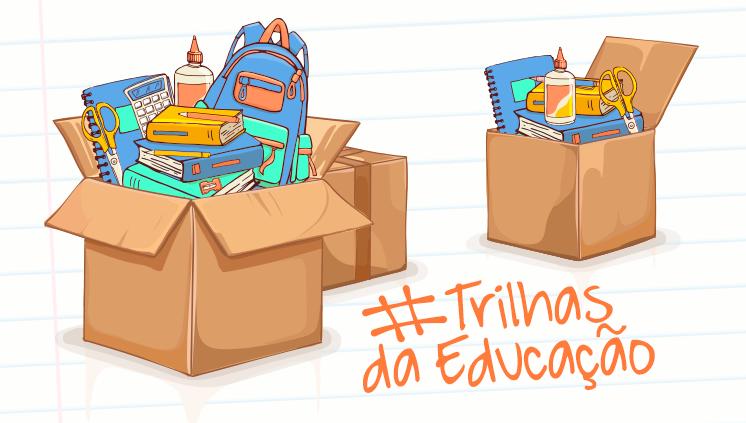 Para este ano letivo, já foram reunidos mais de dois mil kits de material escolar para distribuição entre alunos carentes de escolas da periferia de Porto Alegre (Arte: ACS/MEC)