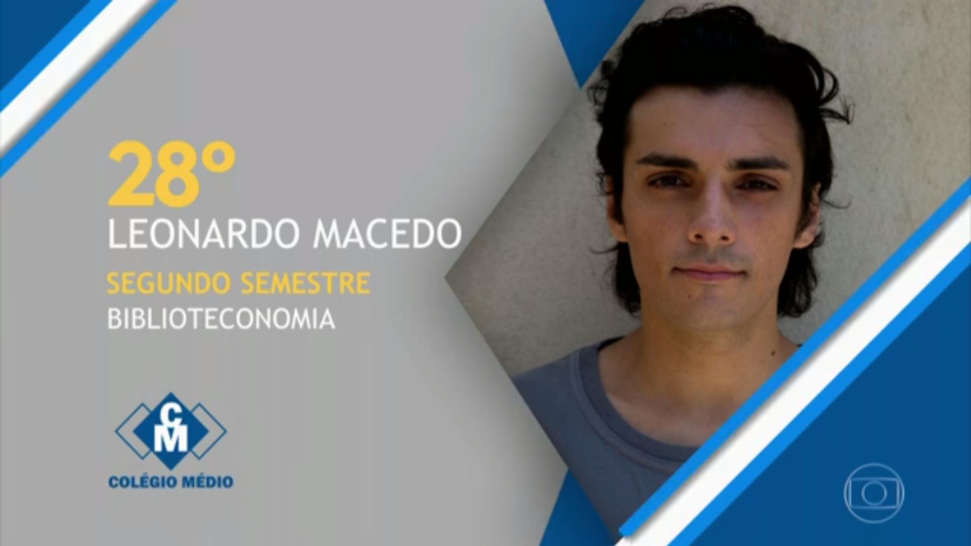 """Humorístico """"Tá No Ar"""" apresenta um personagem que teria passado em 28º lugar em Biblioteconomia (Foto: Reprodução/GloboPlay)"""