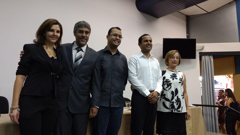 O conselheiro Felipe Lopes representou o CRB-6 na formatura.