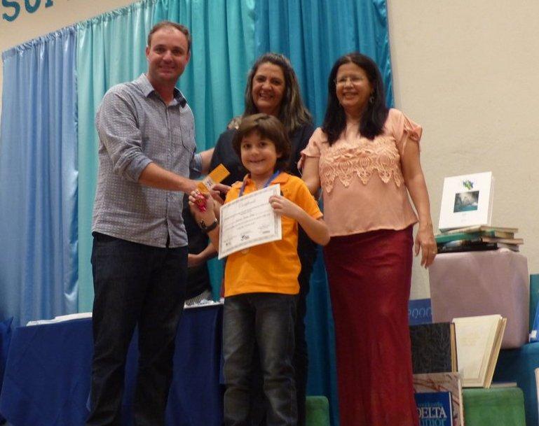 Premiação Pequeno Leitor na Biblioteca Dr. Sócrates (Foto: Divulgação)
