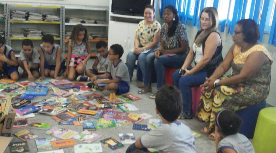 Escola Municipal receberá doação 400 livros (Foto: Divulgação)