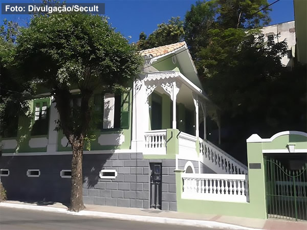 Casa dos Braga será reaberta ao público nesta terça-feira (Foto: SECULT)