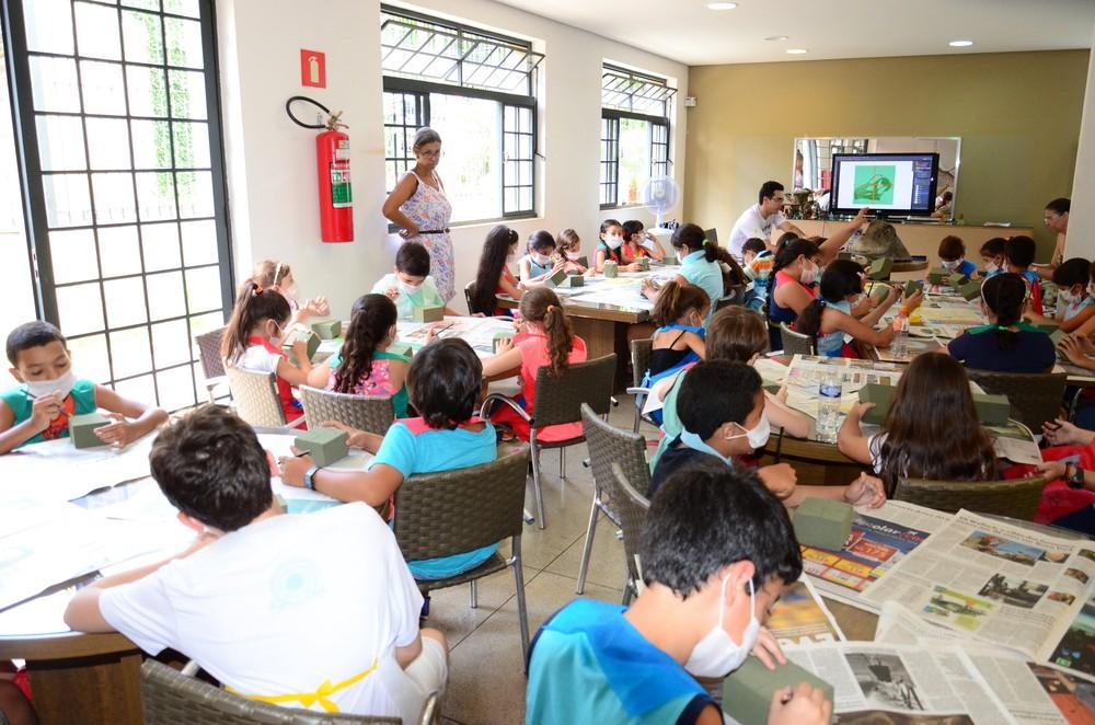 Crianças vão participar de diversas atividades (Foto: Sebastião Santos/PMU)