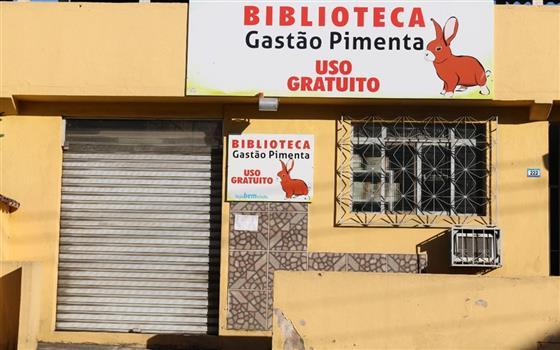Biblioteca Gastão Pimenta (Foto: Reprodução/Aqui Notícias.com)
