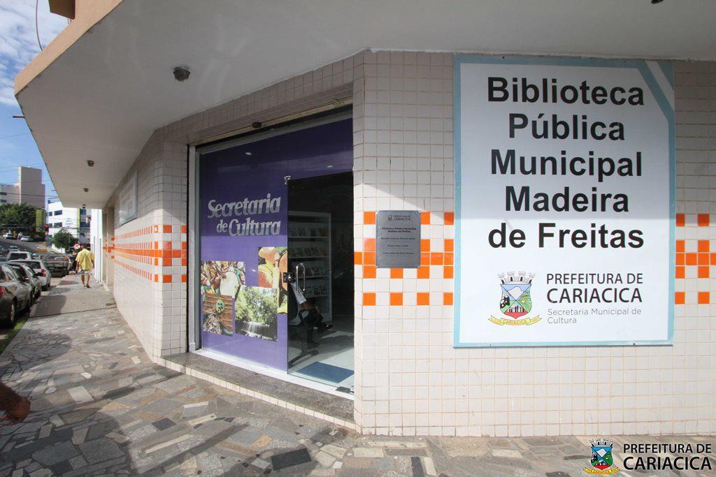 Biblioteca pública municipal de Cariacica (Fotos: Claudio Postay)