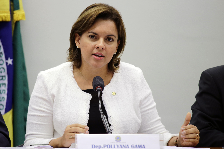 Pollyana Gama vai sugerir ao MEC a edição de decreto fixando parâmetros e alocando recursos para a construção de bibliotecas nas escolas (Foto: Cleia Viana/Câmara dos Deputados)